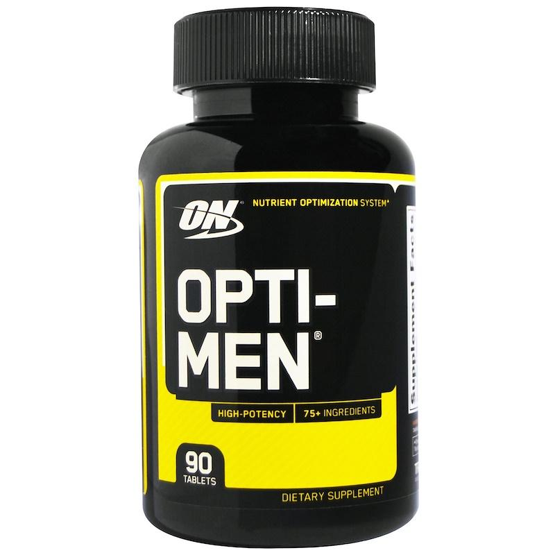 Комплекс витаминов Опти мен, Optimum Nutrition, Opti-Men, 90 таблеток