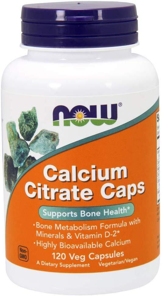Цитрат кальция, Now Foods, Calcium Citrate, 120  капсул