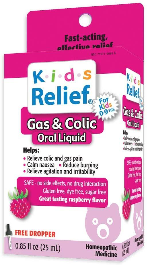 Капли от колик, Kids Relief, Gas and Colic Oral Solution, 25 мл